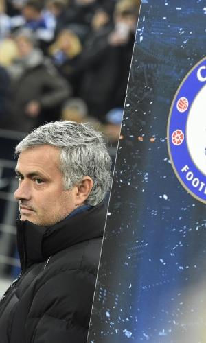 Mourinho se prepara para o jogo do Chelsea na Liga dos Campeões