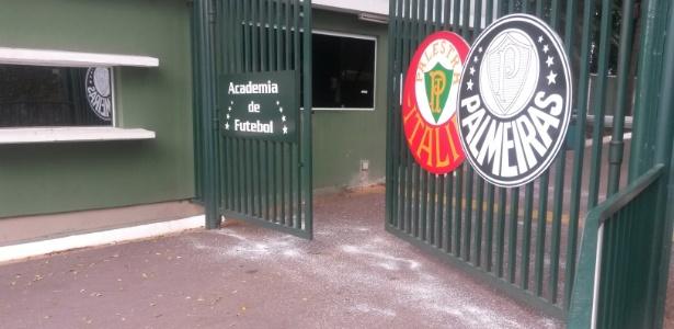César Vallejo irá utilizar o CT do Palmeiras para treinar antes do jogo contra o São Paulo
