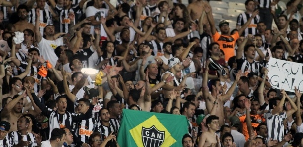Torcida do Atlético-MG vai ter direito a duas mil entradas em Porto Alegre, assim como a torcida do Grêmio, em BH