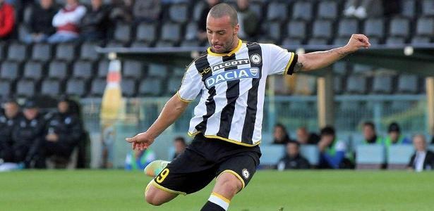 Volante Guilherme poderá reforçar o Cruzeiro na atual temporada - Divulgação/Site oficial Udinese