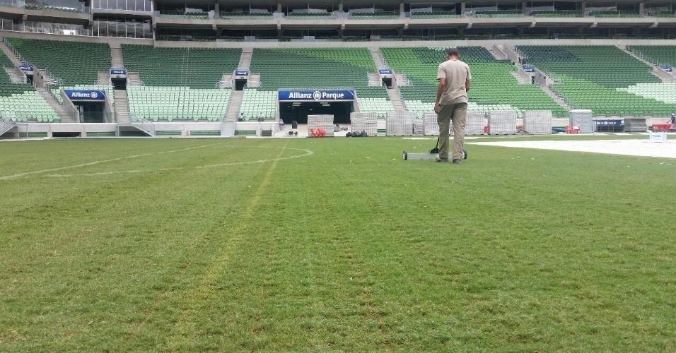 Gramado do estádio palmeirense resiste aos shows do Paul McCartney