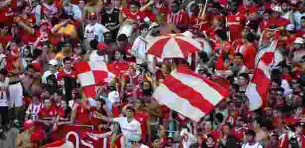 Inter espera mais de 40 mil pessoas contra o Figueirense, às 21h de sábado - Jeremias Wernek/UOL