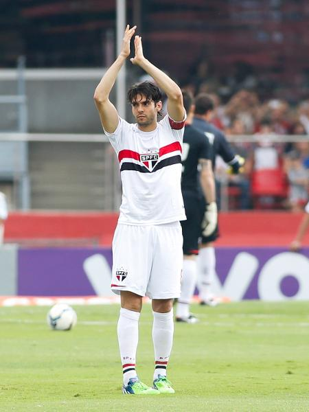 Kaká em seu último jogo pelo São Paulo, no Morumbi - Alexandre Schneider/Getty Images