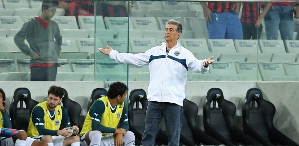 Goiás do técnico Ricardo Drubscky ficou com a 12ª colocação do Campeonato Brasileiro