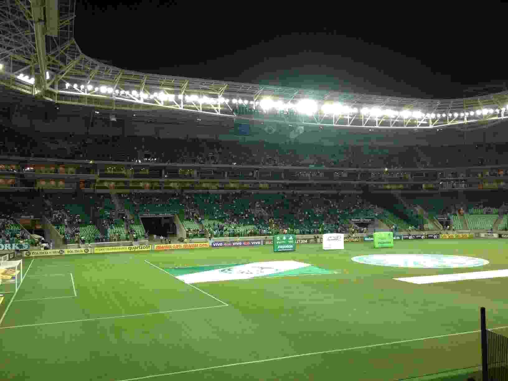 Estádio Allianz Parque em dia de jogo do Palmeiras - Rodrigo Mattos/UOL