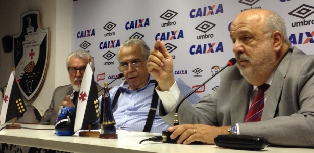 Paulo Reis (direita) era o principal braço direito de Eurico Miranda há anos - Bruno Braz/UOL