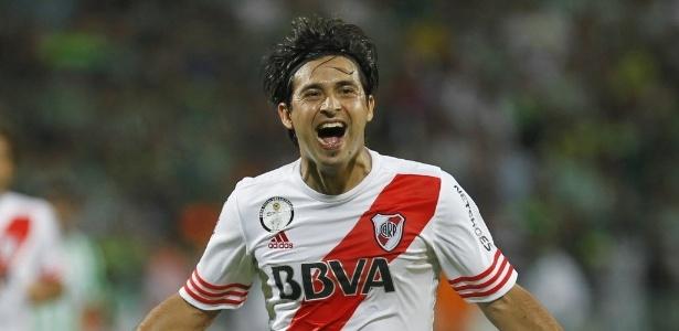 Pisculichi foi campeão da Libertadores em 2015, pelo River Plate