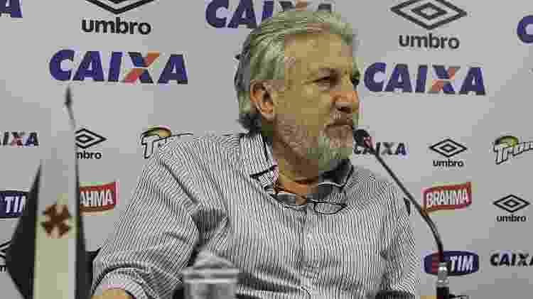 Novo vice de futebol do Vasco, José Luiz Moreira já vem alinhando o trabalho com Campello - Marcelo Sadio/Divulgação/Vasco - Marcelo Sadio/Divulgação/Vasco