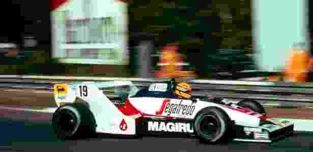 Senna estreou na Fórmula 1 em 1984, pela Toleman - Divulgação/Cars International