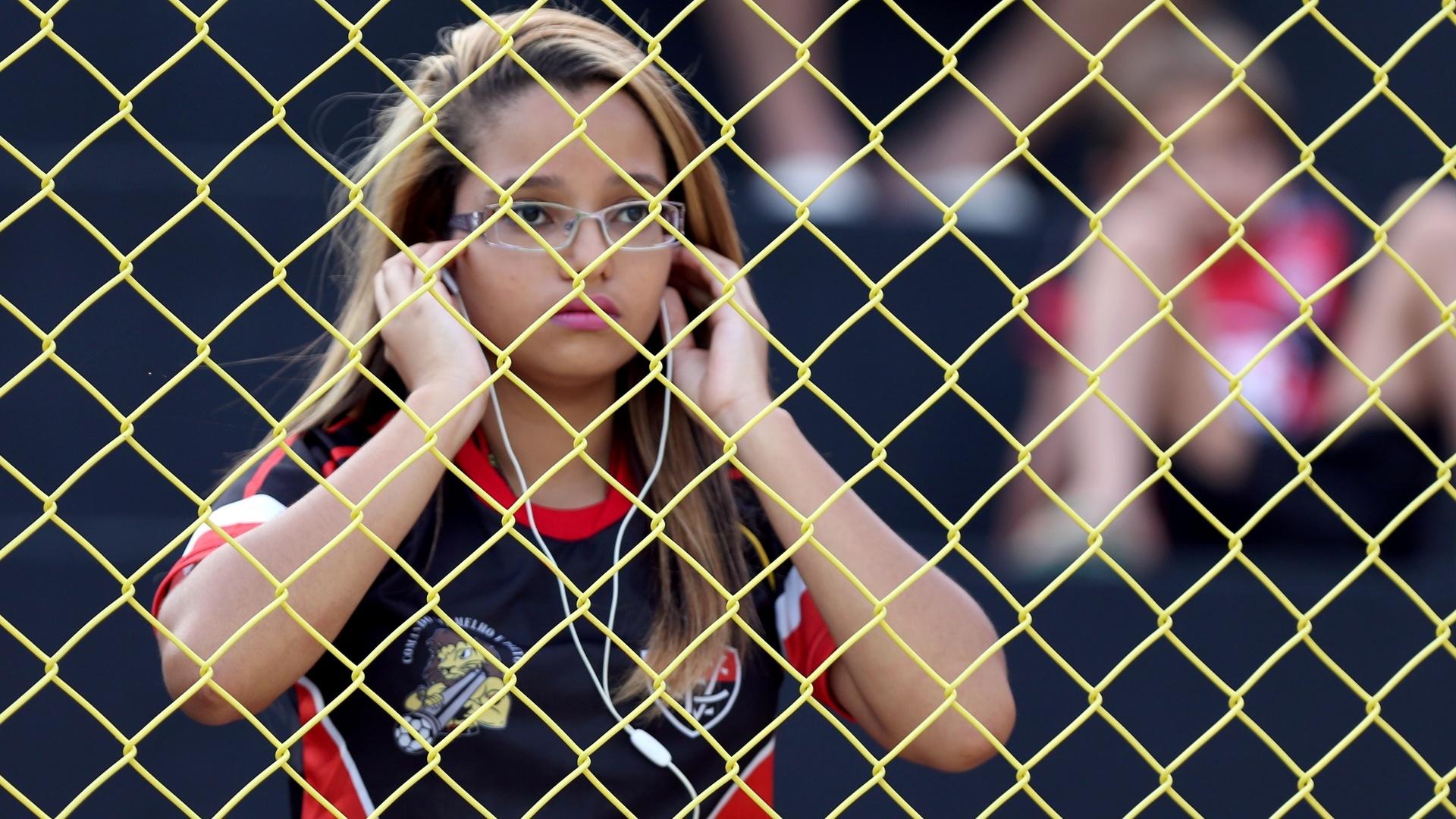 Torcedora do Vitória lamenta rebaixamento do seu clube para a Série B