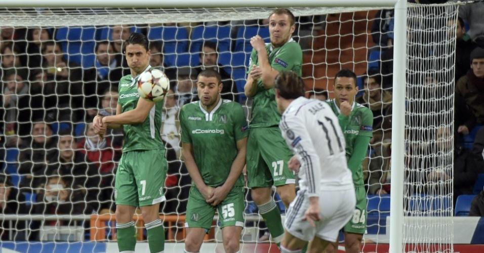 Gareth Bale bate falta com estilo para o Real Madrid