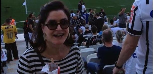 Até Gloria Kalil Vai Ao Estádio E Mostra Como Xingar O Juiz