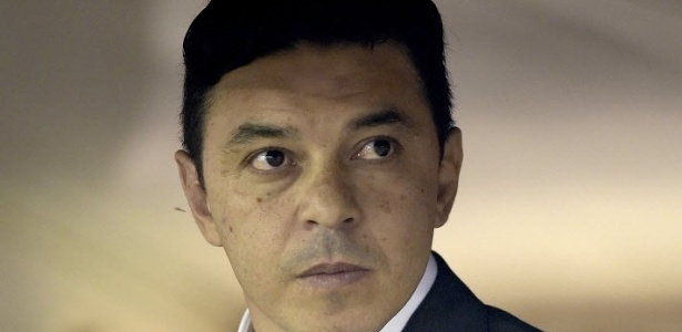 Gallardo não comandará o River em jogo da Libertadores contra o Racing - AFP PHOTO / Juan Mabromata
