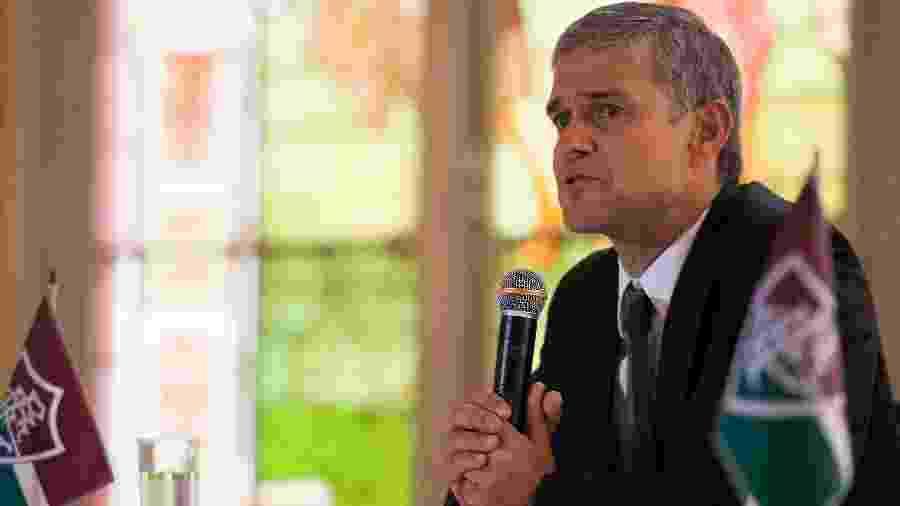 Ex-presidente do Fluminense Peter Siemsen acionou Justiça e alegou ter sido notificado para a apresentação de documento apenas na segunda-feira - BRUNO HADDAD/FLUMINENSE