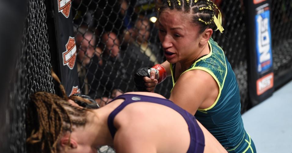 Carla Esparza venceu Rose Namajunas na final do TUF 20 e se tornou a primeira campeã peso palha do UFC