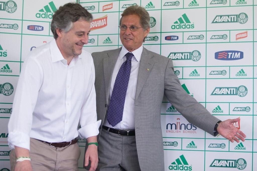 Paulo Nobre chega para apresentar Oswaldo de Oliveira