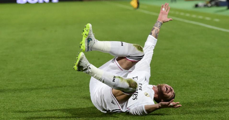 Sergio Ramos comemora de forma curiosa seu gol pelo Real Madrid
