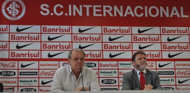 Ex-presidente do Inter, Vitorio Piffero (d), é alvo da investigação - Marinho Saldanha/UOL