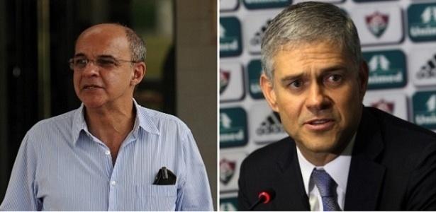 Alexandre Vidal/Fla Imagem e Nelson Perez/Fluminense FC