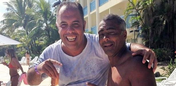 Marcos Braz (e) é peça importante nos bastidores da política do Flamengo - Reprodução/Twiiter