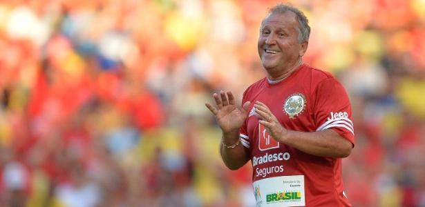 O Galinho Zico está com as chaves do Maracanã até o dia 7 de janeiro de 2018