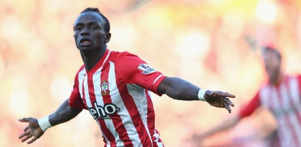 Senegalês Sadio Mane marcou 11 gols pelo Southampton na última edição do Inglês