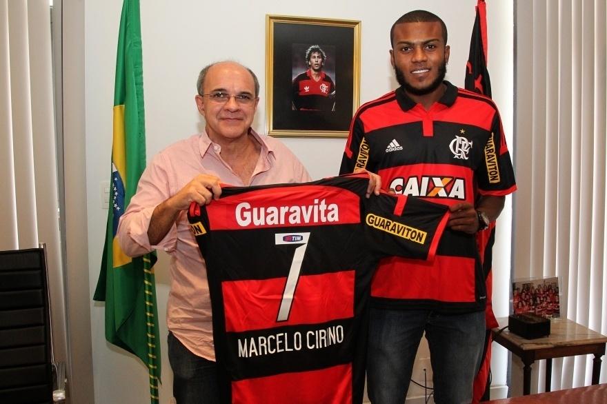 Marcelo admite pressão no Fla   Vou provar que sou jogador de time grande   - 02 01 2015 - UOL Esporte db1b776f3bbed
