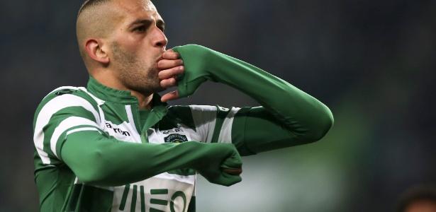 Slimani, no Sporting desde 2013, chegaria para substituir Fernando Torres