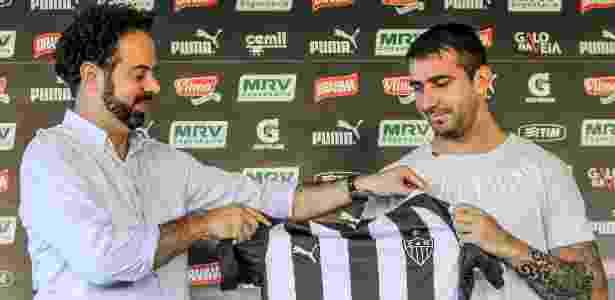 Alvo dos chineses no início do ano, Lucas Pratto é um dos mais valiosos do Atlético-MG - Bruno Cantini/Clube Atlético Mineiro