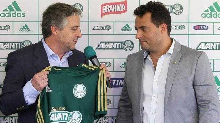 Paulo Nobre apresenta Alexandre Mattos como novo diretor de futebol