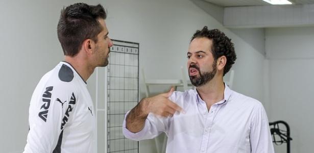 Victor viu a conversa com o presidente Daniel Nepomuceno como algo importante