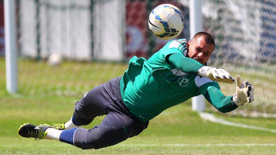 Deola é um dos goleiros revelados nas categorias de base do Palmeiras - Vinicius Pereira-24.set.2014/Folhapress