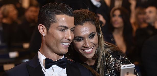 Marta é grande fã de Cristiano Ronaldo