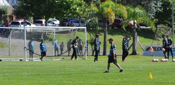 Goleiros do Grêmio sofrem em treinamento de pré-temporada na serra gaúcha e4e95767365e5