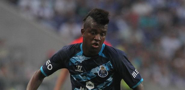 Atacante Kelvin só atuou por 21 minutos pelo Porto nesta temporada