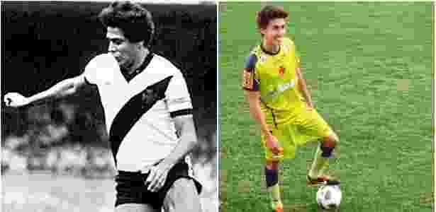 Rodrigo Dinamite foi formado no Vasco da Gama, mas nunca atuou pelo time profissional - Arte/UOL