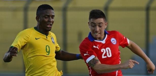 Thalles tem sido titular da Seleção Brasileira sub-20 no campeonato Sul-Americano da categoria
