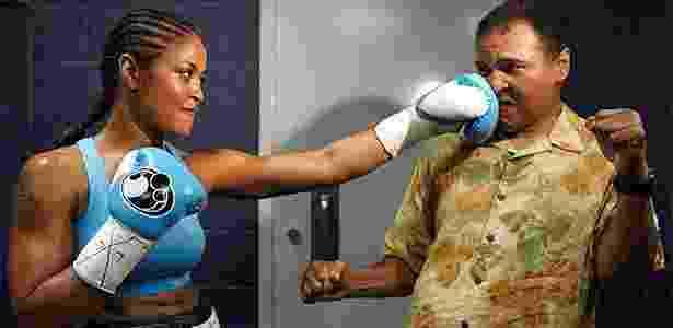 Laila Ali é filha do lendário peso pesado Muhammad Ali - Reprodução