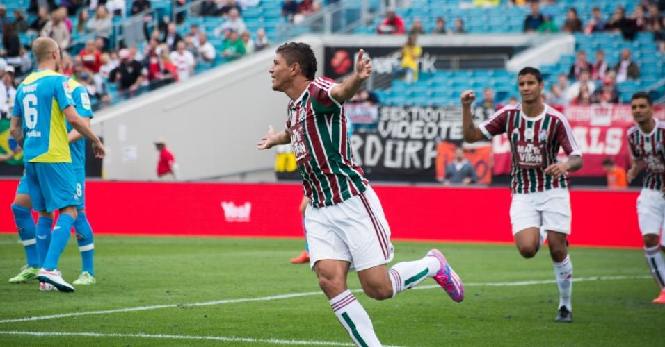 Fluminense perde para Colonia 7126d5d9e3374