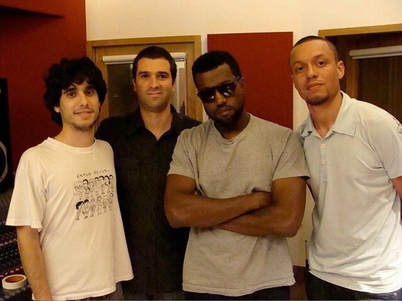 Hebert Mota também é um dos sócios de um importante estúdio em São Paulo, que já recebeu até o rapper norte-americano Kanye West