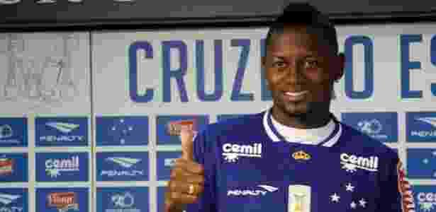 Colombiano chegou em janeiro de 2015 e foi emprestado em maio após quatro jogos - Divulgação/Cruzeiro