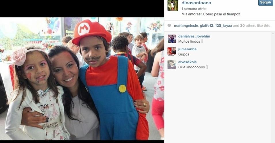 Dinorah é ex-mulher de Daniel Alves. Os dois têm dois filhos juntos: Daniel e Vitória. Eles se dividem para cuidar das crianças