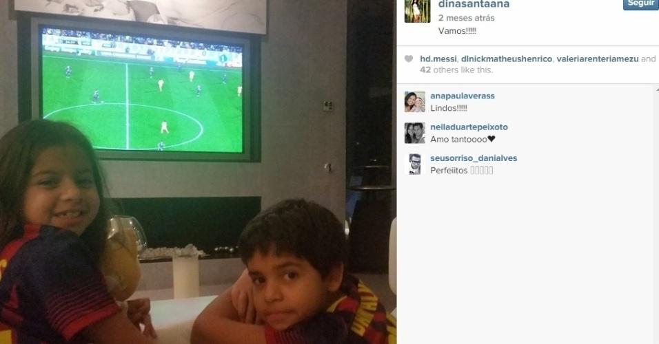 Dinorah gerencia a carreira de Daniel Alves e torce pelo Barcelona por conta do ex-marido