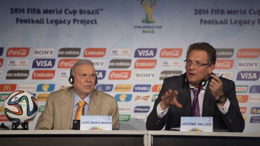 Jerome Valcke, ex-secretário geral da Fifa - EFE/SEBASTIÃO MOREIRA