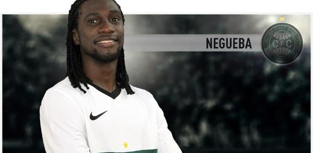 Negueba (foto) pode ser trocado por Edinho, mas Coritiba quer mais tempo para pensar