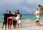Campeão da vela quase destruiu barco na lua de mel. Milionário o resgatou - Reprodução/Twitter