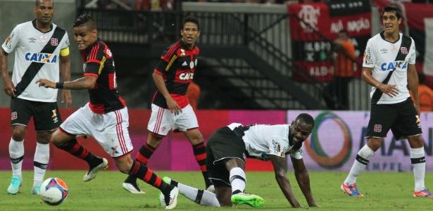 Essa falha contra o Fla custou a vaga de Sandro Silva no time titular do  Vasco 34a7ce0d2471c