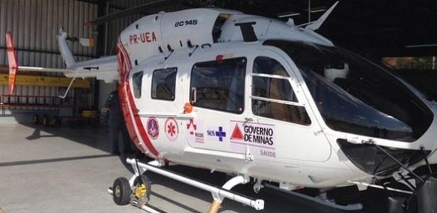 Helicóptero de R$ 35 milhões ainda não foi usado por falta de pessoal - Divulgação