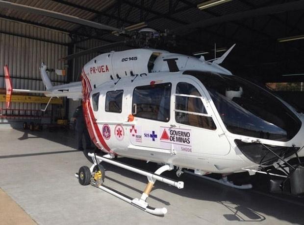 Helicóptero de R$ 35 milhões ainda não foi usado por falta de equipamentos