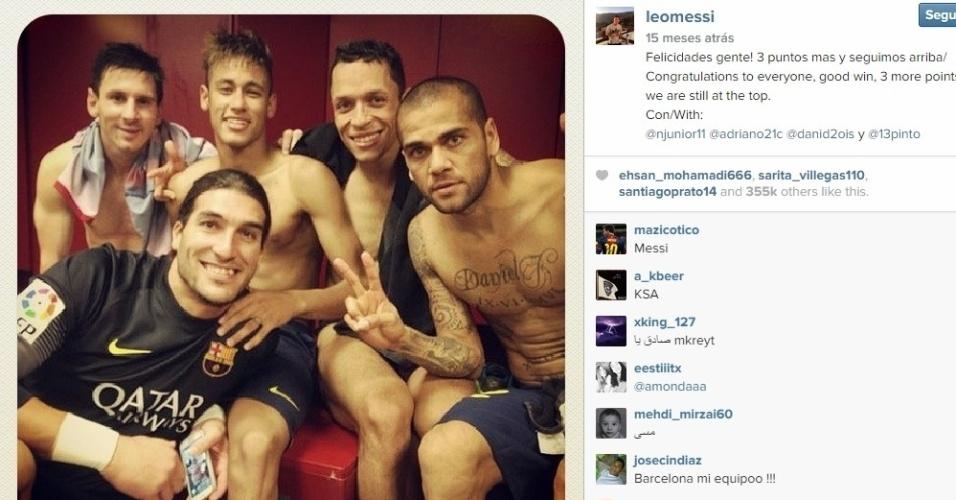 Neymar disse que Messi é o melhor jogador com que já atuou na carreira